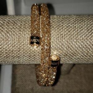 Swarovski cristal dust wrap authentic